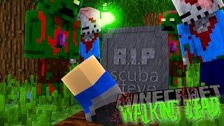 Minecraft THE WALKING DEAD - IS SCUBA STEVE DEAD OR ALIVE???