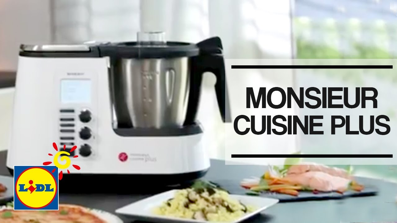 monsieur cuisine plus lidl espa a youtube