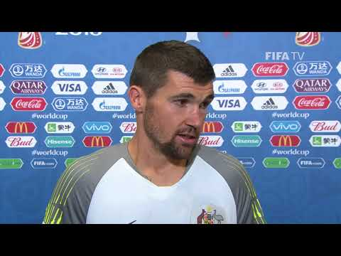 Mathew RYAN (Australia) - Post Match Interview - MATCH 5