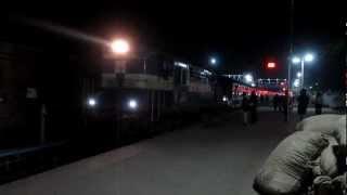 12068 JORHAT TOWN-GUWAHATI JAN SHATABDI departs LUMDING Jn!
