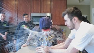 EXPLODING WATER BOTTLE PRANK