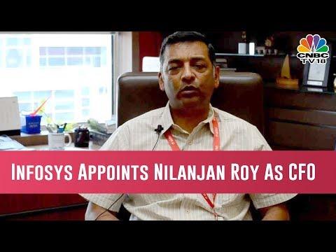 Infosys Names Airtel Veteran Nilanjan Roy As Its New CFO