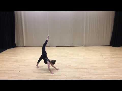 BBC Young Dancer Application Kitty Pilgrim-Morris