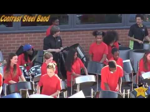 Contrast Steel Band @Crown Hills Community College (Leicester) (Taster Video)