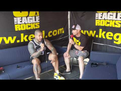 BFD (414) - Tommy Vext of Bad Wolves With Klinger at BFD 2019