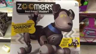 """Zoomer """"shadow"""" Electronic Interactive Light Up Puppy Dog Toy / Toy Review"""