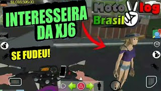 Interreseira da XJ6 do moto vlog Brasil se ferrou!