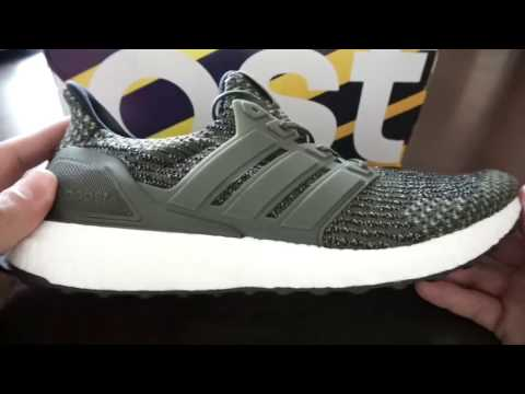 0c6b92423fcc ADIDAS ULTRA BOOST 3.0 TRACE CARGO UNBOXING + REVIEW