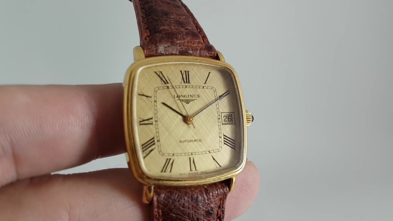 1978 Longines Flagship vintage watch with ultra thin calibre L990 1 movement