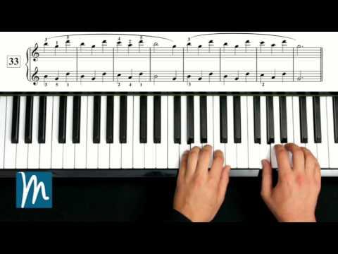 Ejercicios 32, 33 y 34 - Método Beyer Piano - Música para Todos ®
