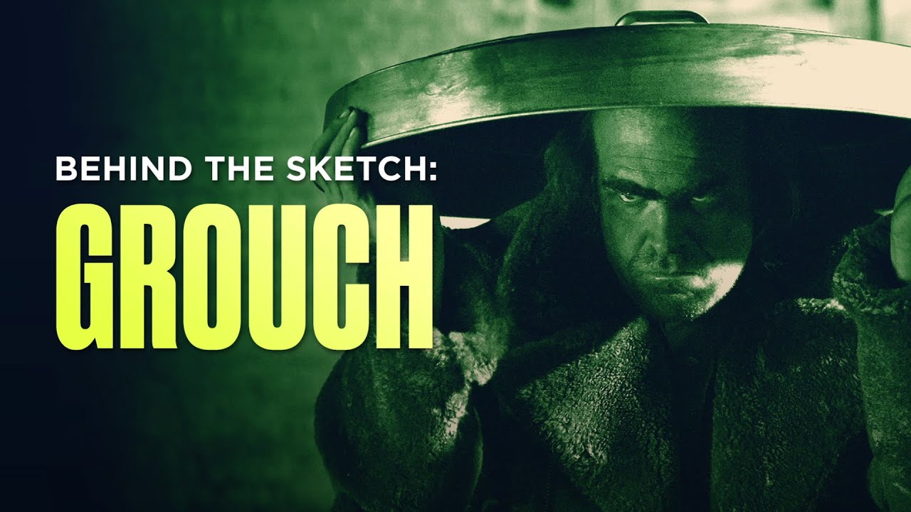 Behind the Sketch: Grouch (Joker Parody) - SNL