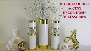 DIY DOLLAR TREE ACCENT DECOR/HOME ACCESSORIES