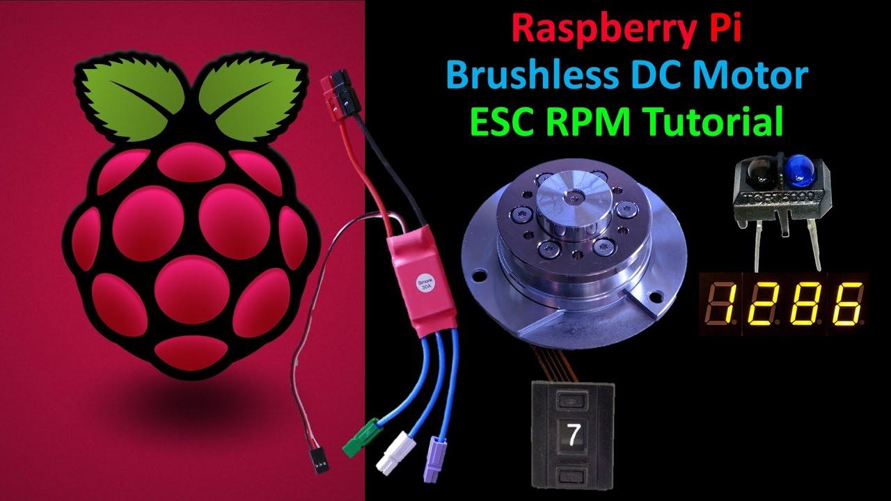 Raspberry Pi ESC Motor Tutorial | Rototron
