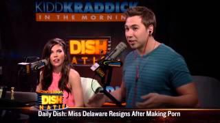 Dish Nation - Miss Teen Delaware sex tape scandal!