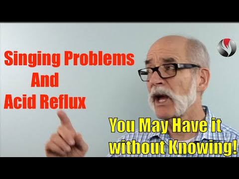 Ep.102: Singing Problems and Acid Reflux - You May Have it without Knowing!