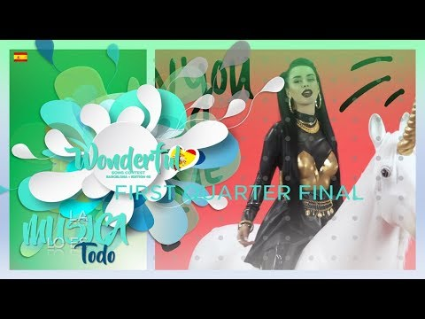 First Quarter Final | Barcelona | Wonderful Song Contest #40