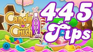 Candy Crush Soda Saga Level 445 Commentary Walkthrough