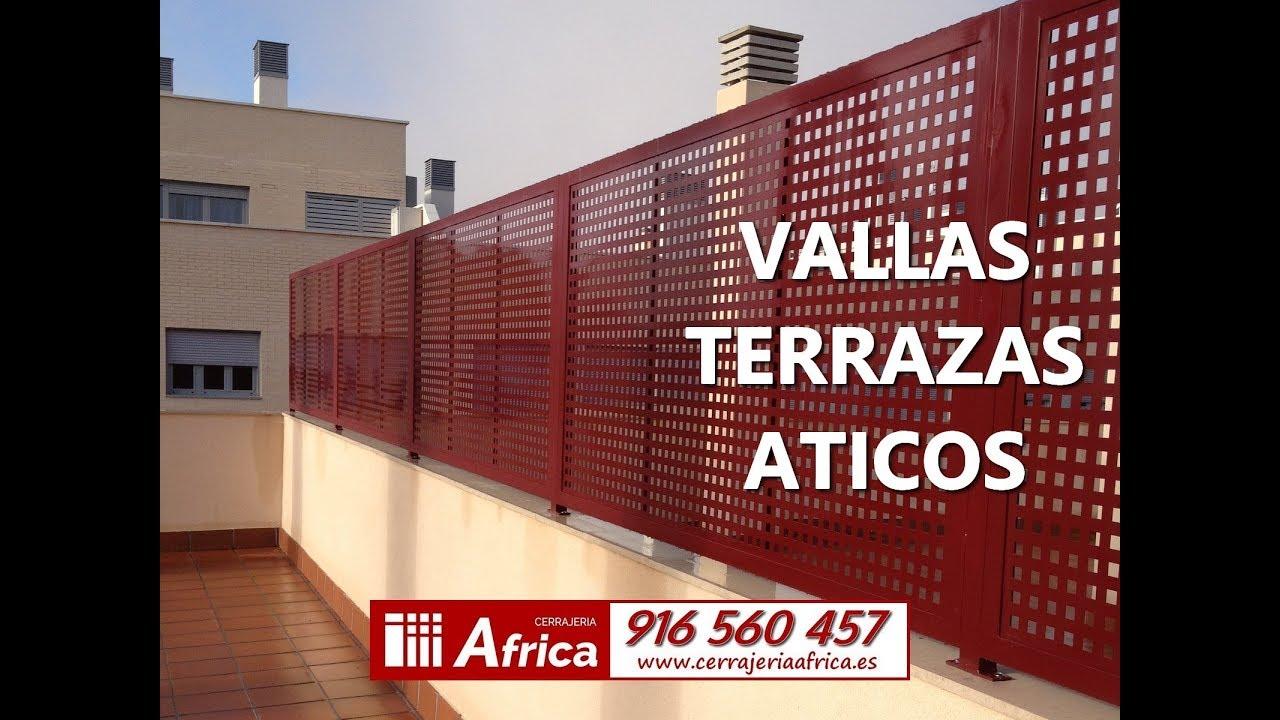 Vallas Para áticos 916 560 457 Cerramientos De áticos