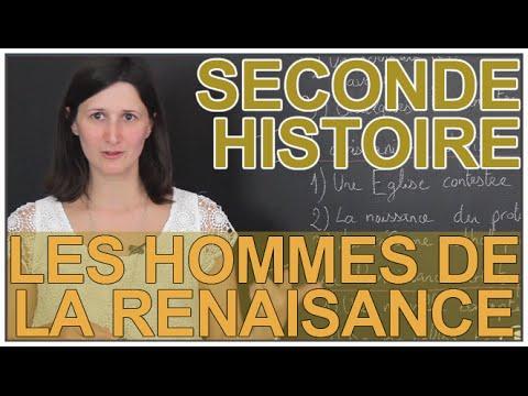 Les hommes de la Renaissance - Histoire-Géographie - Seconde - Les Bons Profs