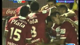 canal 10 cba24n independiente 1 argentinos jrs 3 apertura 2012 primea division