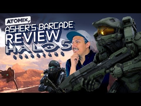 REVIEW Halo 5 Guardians - Asher's Barcade