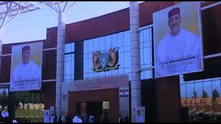 Résumé des moments forts de l'investiture du Président de la République du Niger, SEM Mohamed Bazoum