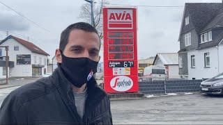 Türkiye ve Almanya'daki fark. Benzin İstasyonu