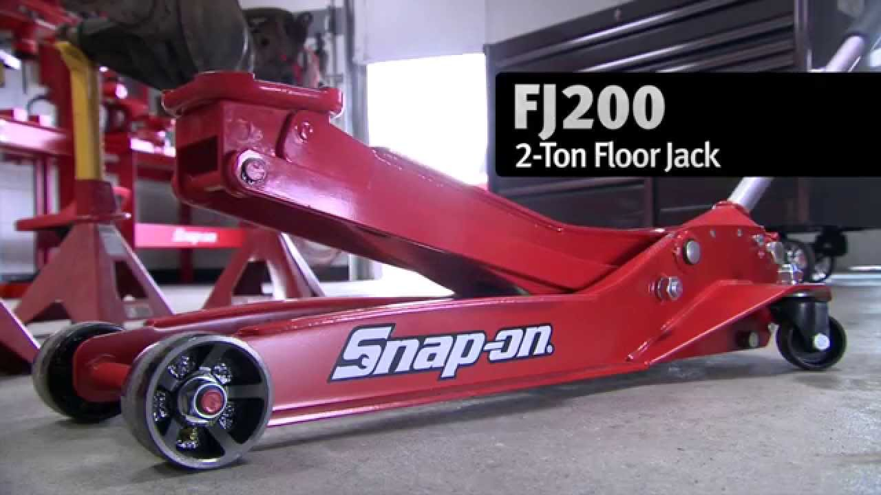 High Quality Snap On 2 Ton Floor Jack   FJ200   YouTube