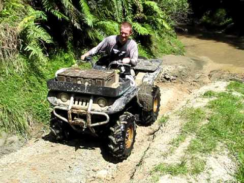 hqdefault Atv Yamaha Grizzly With Leaking Carburetor Part 1