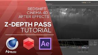 الانزياح نحو الأحمر & Cinema 4D مع بعد الأثر - إنشاء Z عمق تمر DOF و الضباب