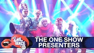 Presenters from The One Show perform Lady Gaga's 'Born This Way' - Let's Sing & Dance: Final 2017