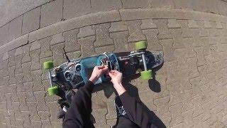 DIY 34 kmh/ 20 mph Electric Longboard