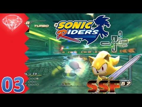 Let's Play Sonic Riders (Deutsch|Again|100%) Part 3 - Endlich wird es mal anspruchsvoll