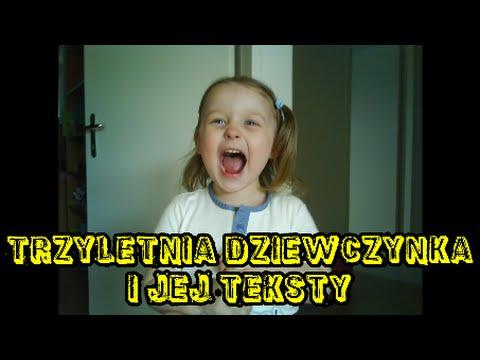 śmieszne Dzieci Trzyletnia Dziewczynka I Jej Teksty