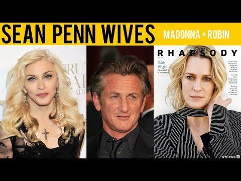 Sean Penn's Wife 2017 - [Robin Wright] & [MADONNA]