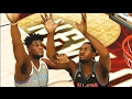 West All Stars VS East All Stars   Alley Oop Only Challenge   NBA 2K17 Challenge