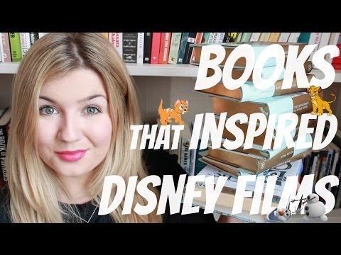 Top 10 Books That Inspired  Disney Films   #BookBreak