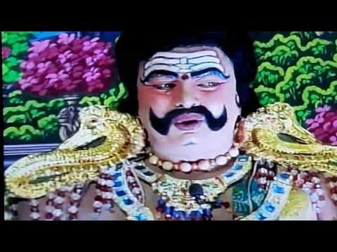 Venkatesh in prachanda ravana drama at mysore