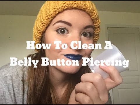 How to: Clean A Belly Button Piercing │ Sea Salt Soaks