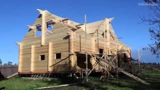Строительство домов из профилированного бруса ангасркой сосны(Строим дома из профилированного бруса. Собственное производство в Красноярске. Domik-63.ru. 8 846 991 76 47. Звоните...., 2015-10-07T09:21:57.000Z)