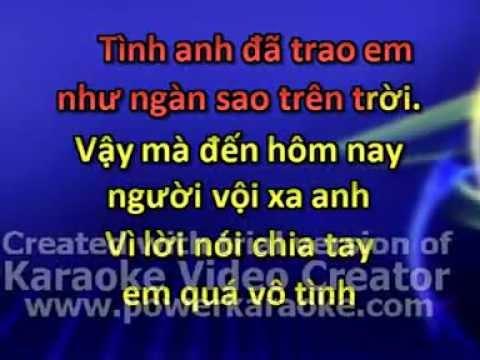 tinh dau phoi pha karaoke beat
