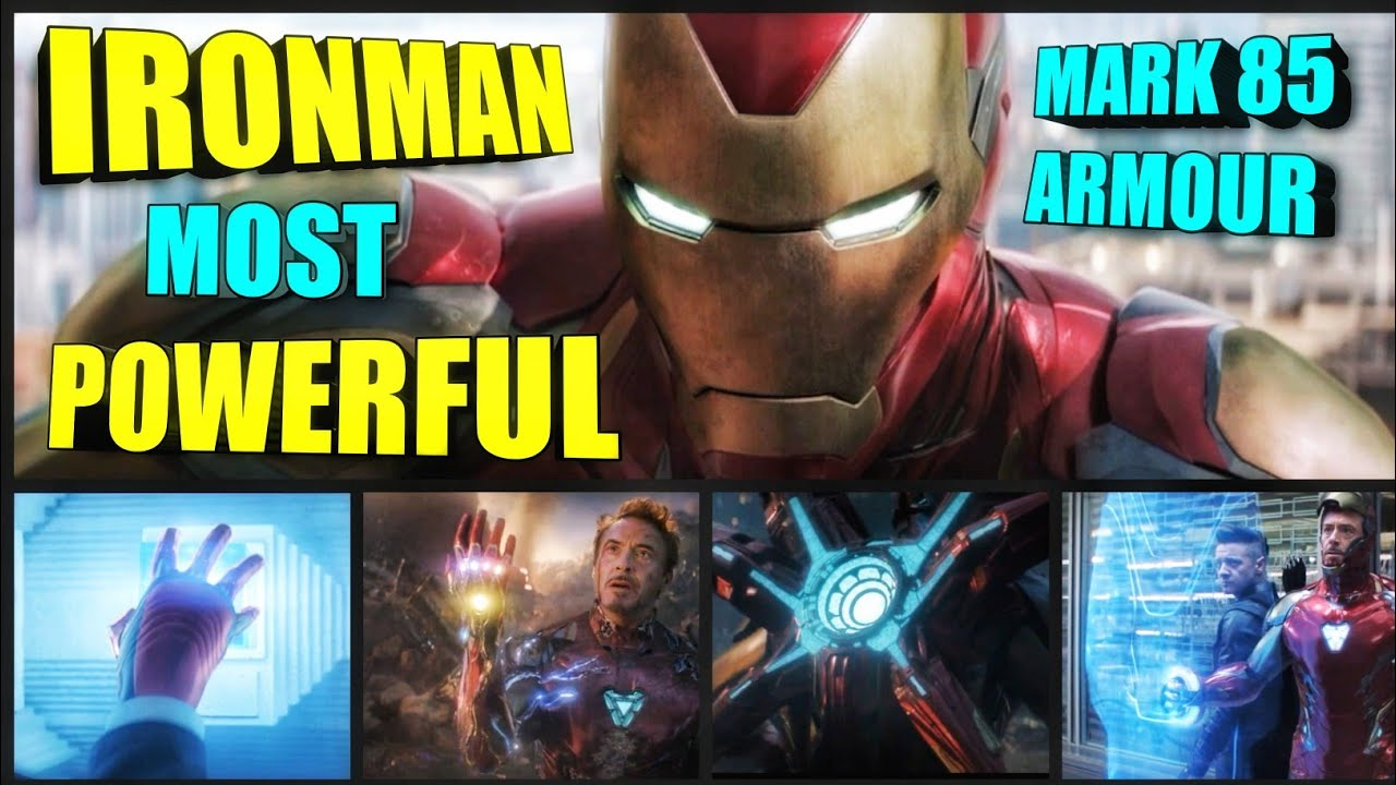 Ironman Most Powerful Armour Mark 85 Explained In Hindi (SUPERBATTLE)