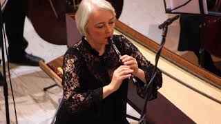 Sammartini Concerto for recorder & strings in F-Major (Michala Petri and Concerto Copenhagen)