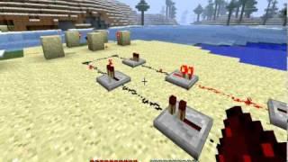 Minecraft Beta 1.3 Rapid Fire Machine Gun RedStone Repeater!