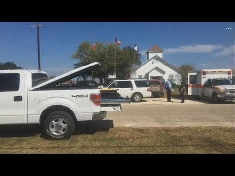 Mass shooting at church in small Texas town