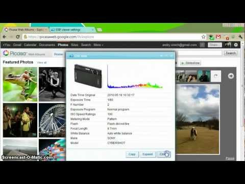 EXIF Viewer for Google Chrome - YouTube