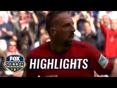 Bayern Munich vs. Eintracht Frankfurt | 2015–16 Bundesliga Highlights