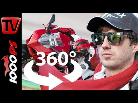GoPro Fusion Review - Ducati Panigale V4 Test - 360 Grad - Virtual Reality - Video 4K