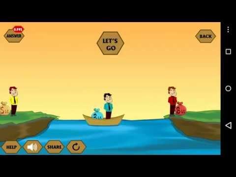 River Crossing IQ Logic 11 answer
