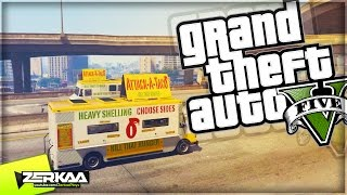 TACO TRUCK DEATH RACE | GTA 5 Funny Moments | E594 (GTA 5 PS4)